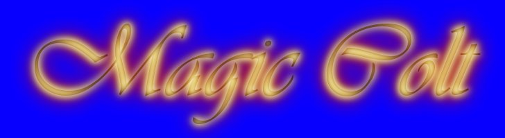 "graphic showing the text ""Magic Colt"""